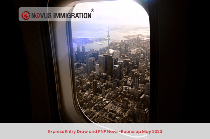 Express Entry Draw and PNP News-Round up May 2020