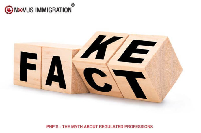 PNP'S – the Myth About Regulated Professions