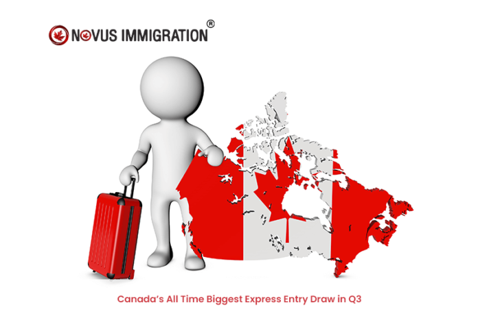 Canadas All Time Biggest Express Entry Draw in Q3