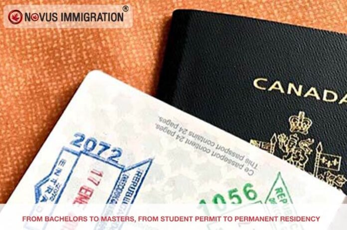 From Bachelors to Masters, from Student Permit to Permanent Residency