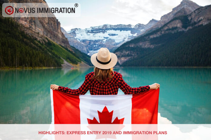 Highlights: Express Entry 2019 and Immigration plans